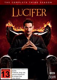 Lucifer Season 3 on DVD