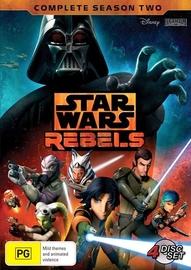 Star Wars Rebels Complete Season Two on DVD
