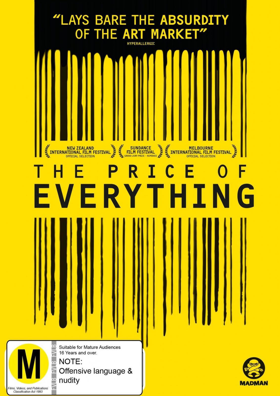 The Price Of Everything on DVD image