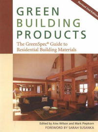 Green Building Products: The GreenSpec Guide to Residential Building Materials by Alex Wilson image