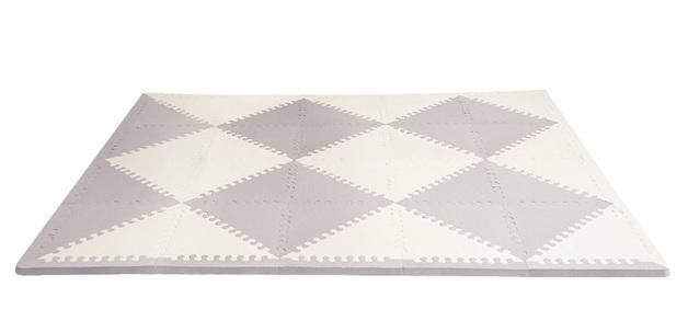 Skip Hop: Playspot Geo - Foam Floor Tiles (Grey/Cream)