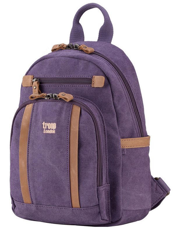 Troop London: Classic Small Backpack - Purple