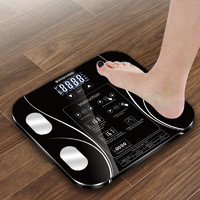 Smart Body Fat Weighing Scale - Night Black