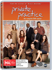 Private Practice - Season 5 on DVD