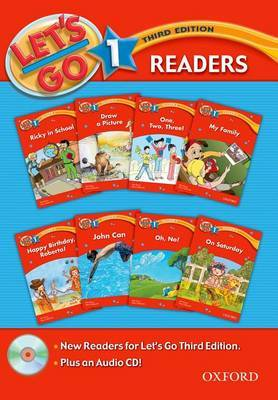 Let's Go: Level 1: Readers Pack with CD by Barbara Hoskins