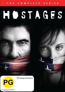 Hostages - Season 1 on DVD image
