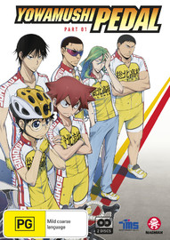 Yowamushi Pedal - Part 1 (Eps 1-12) [Subtitled Edition] on DVD