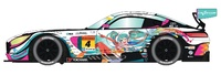 Scalextric: DPR Mercedes AMG GT3 #4 - Slot Car