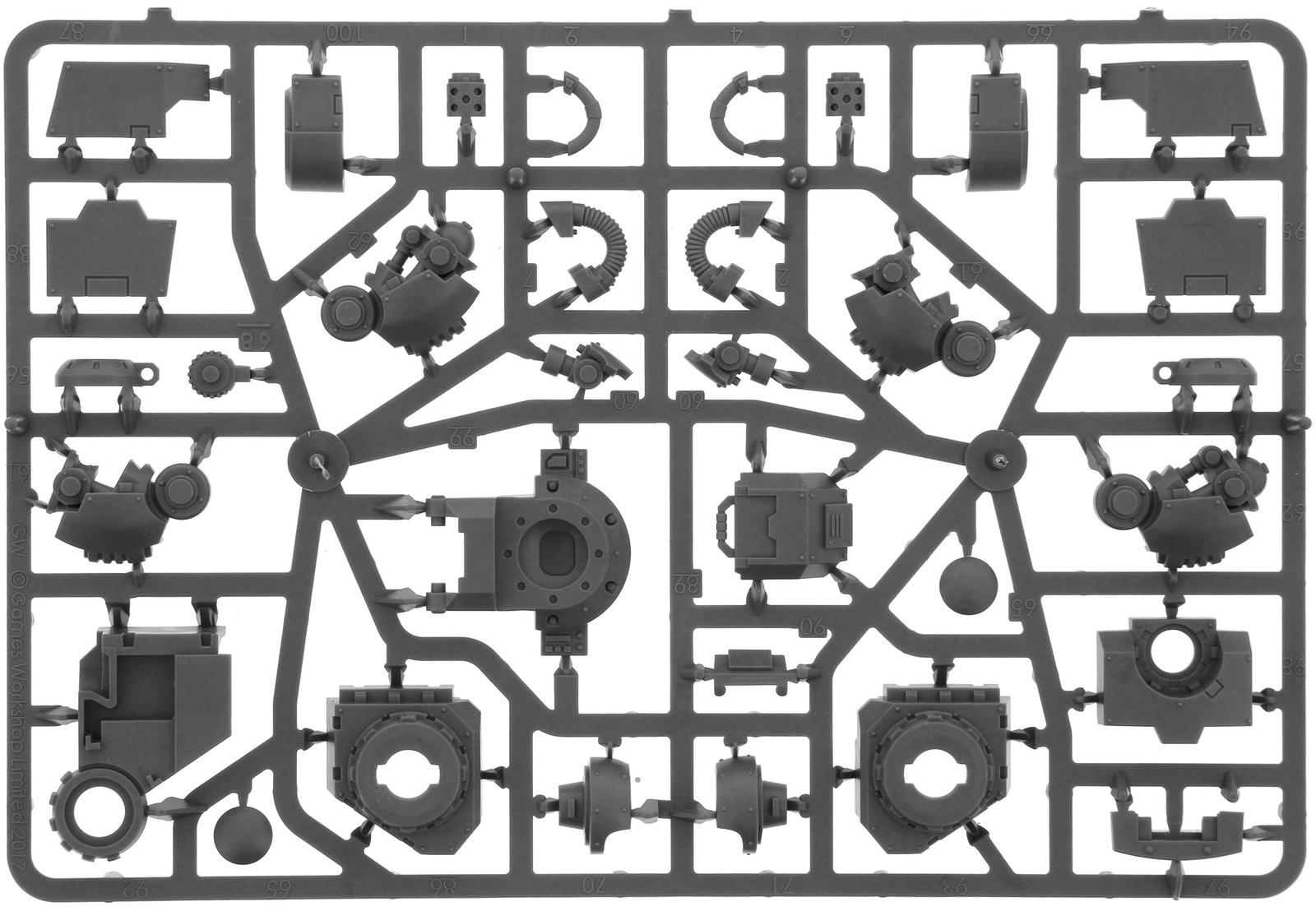 Warhammer 40,000 : Space Marine Primaris Redemptor Dreadnought image