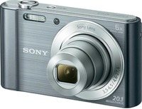 Sony: DSCW810P - Digital Camera (Silver)