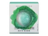 Organik Botanik Splotch Bath Bomb - Eucalyptus & Jasmine