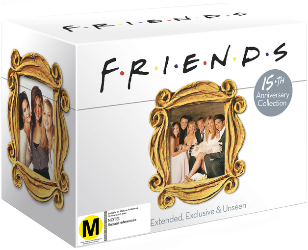 Friends - The Complete Series 1 - 10 on DVD