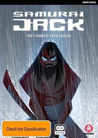 Samurai Jack - Season 5 on DVD image