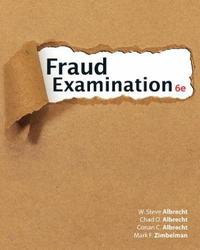 Fraud Examination by Conan Albrecht