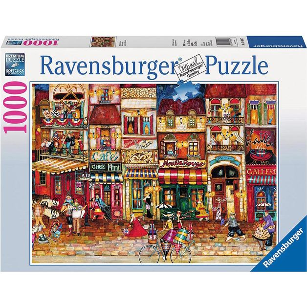 Ravensburger Streets of France Puzzle (1000pc)