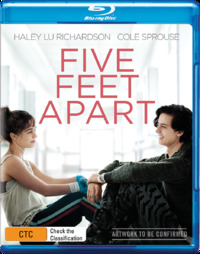 Five Feet Apart on Blu-ray