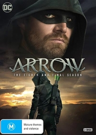 Arrow: The Eighth Season on DVD