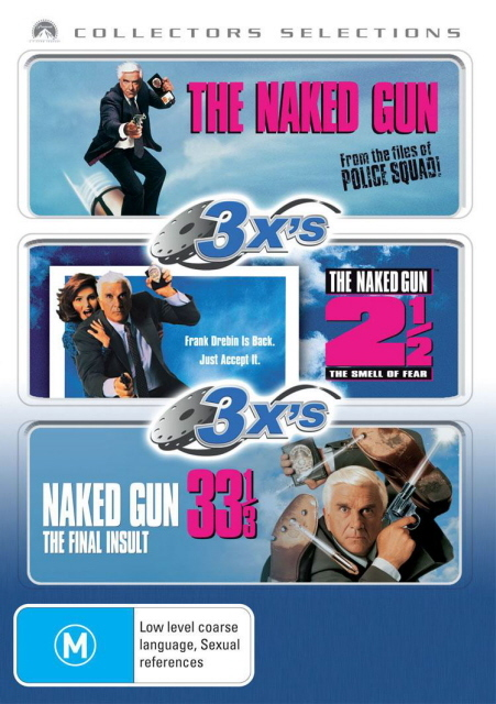 The Naked Gun / The Naked Gun 2 / The Naked Gun 33 1/3 (Collectors Selections) (3 Disc Set) on DVD