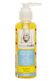 Made4baby Massage Oil 150ml Organic Citrus