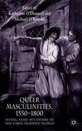 Queer Masculinities, 1550-1800 image