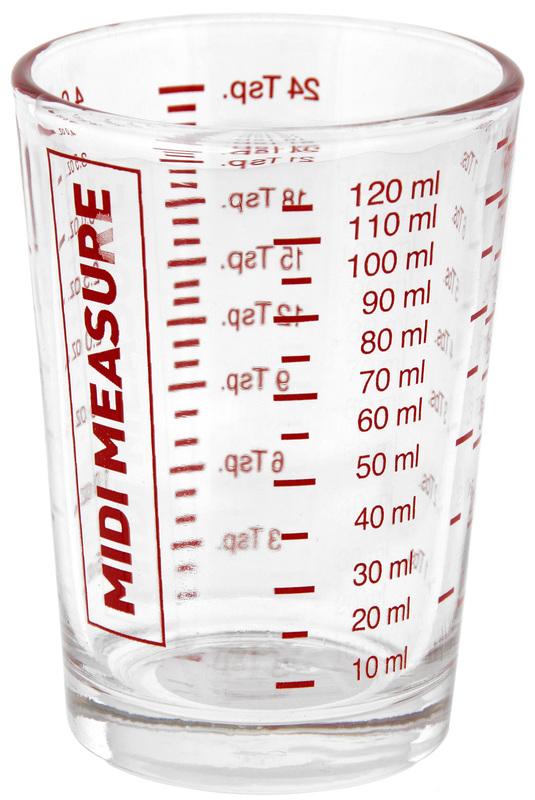 Midi Measure Glass (125ml)