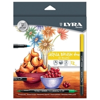 Lyra - Aqua Brush Duo - 12 Pack