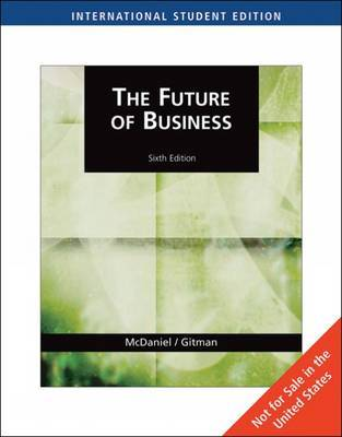 The Future of Business by Carl McDaniel image