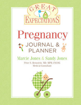 Great Expectations: Pregnancy Journal & Planner by Marcie Jones image