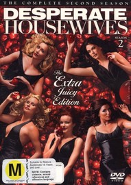 Desperate Housewives - The Complete 2nd Season (7 Disc Set) on DVD image