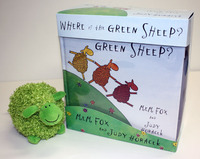 Where is the Green Sheep? Gift Set (Book + Plush Toy) by Mem Fox