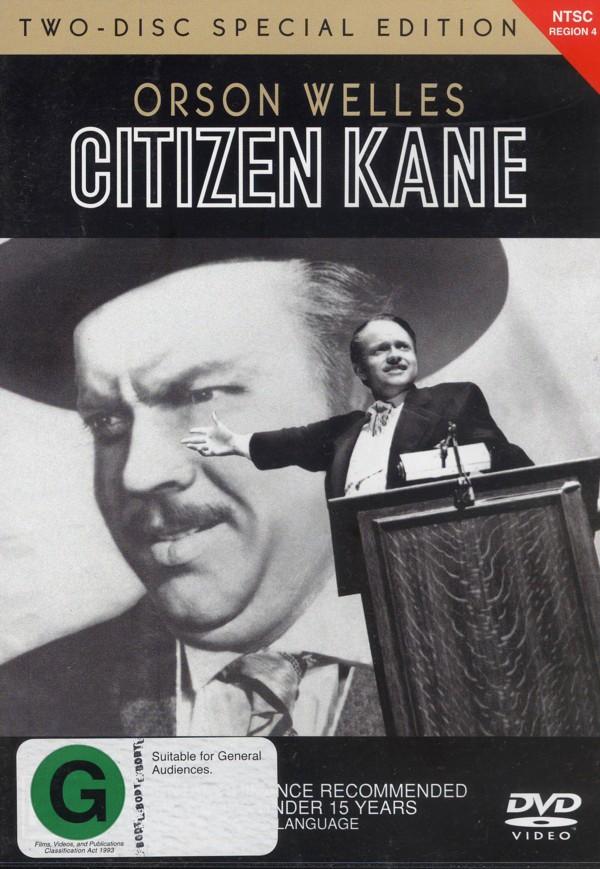Citizen Kane (2 Disc Set) on DVD image