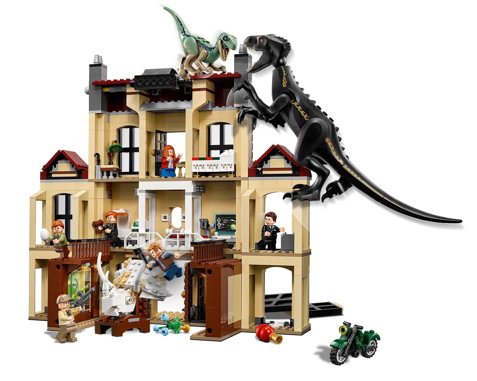 LEGO Jurassic World - Indoraptor Rampage at Lockwood Estate (75930) image