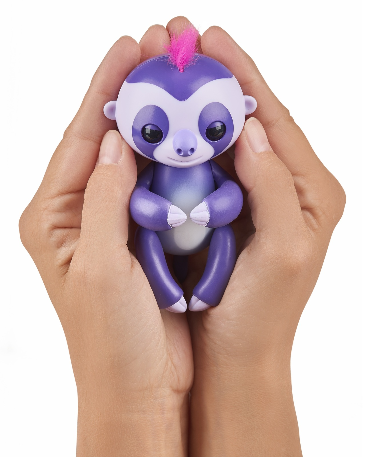 Fingerlings: Interactive Baby Sloth - Purple image