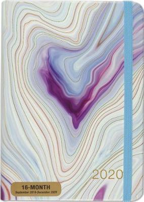 Peter Pauper Press: Blue Agate 2020 Weekly Planner