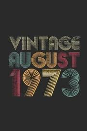 Vintage August 1973 by Vintage Publishing image