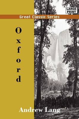 Oxford by Andrew Lang image