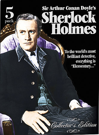 Sherlock Holmes Collectors Edition (5 Disc) on DVD