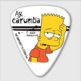 The Simpsons Guitar Pick - Bart Simpson Ay Carumba
