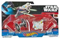 Hot Wheels: Star Wars Starships 2 Pack - Rebels Ghost vs. TIE Fighter