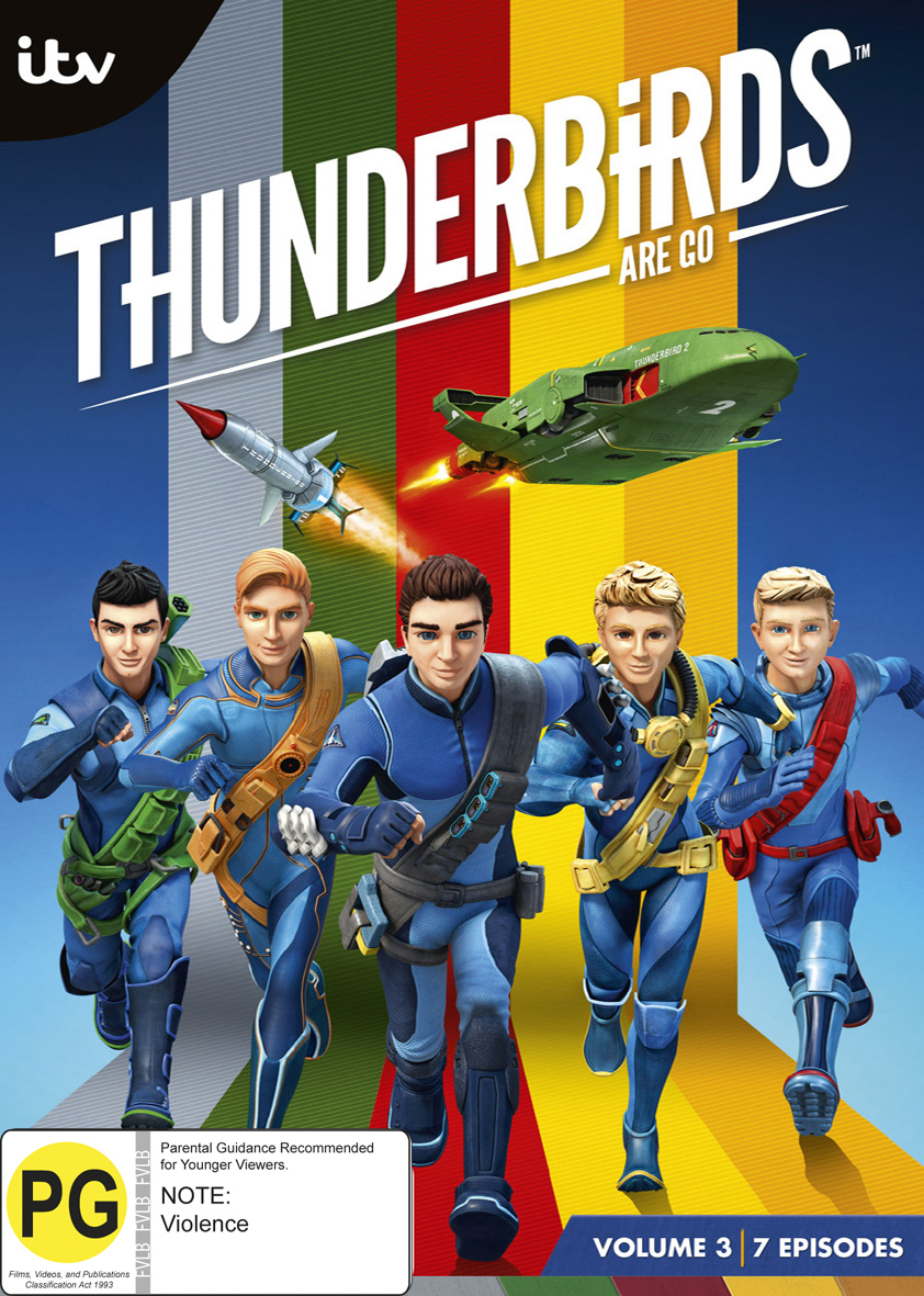 Thunderbirds Are Go: Volume 3 on DVD image