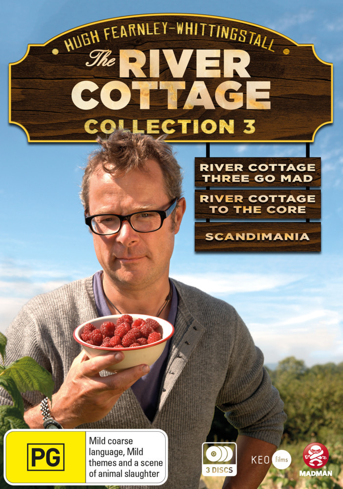 The River Cottage Collection 3 on DVD image