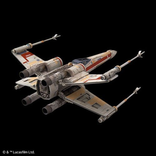 Star Wars: 1/72 Red Squadron X-Wing - Model Kit image