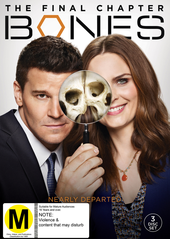 Bones: The Final Chapter (Season 12) on DVD