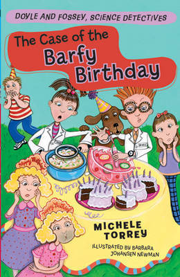The Case of the Barfy Birthday by Michele Torrey image