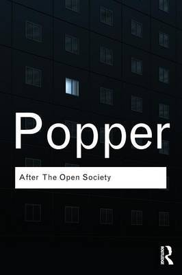 After The Open Society by Karl Popper image