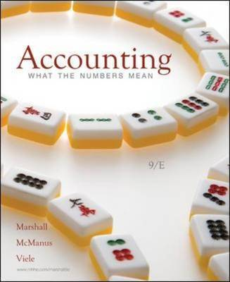 Accounting: What the Numbers Mean by David H Marshall