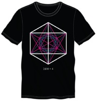 Dungeons & Dragons: 2D10+4 Geometric - Men's T-Shirt (2XL)