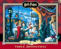 New York Puzzle Company: 500 Piece Puzzle - Three Broomsticks