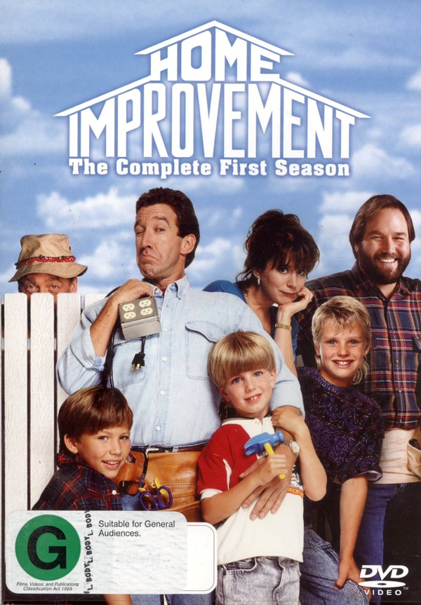 Home Improvement - Complete Season 1 (4 Disc Set) on DVD image