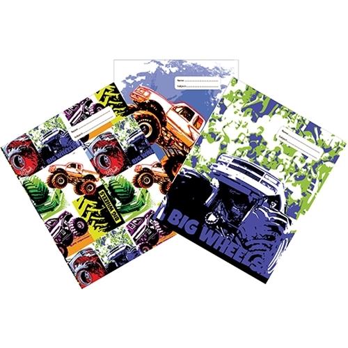 Spencil: Big Wheels II - 1B5 Book Cover Set (3-Pack)